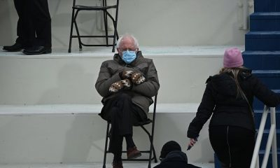 People Have Turned Bernie Sanders' Inauguration Fashion Into So Much More Than Your Standard Meme