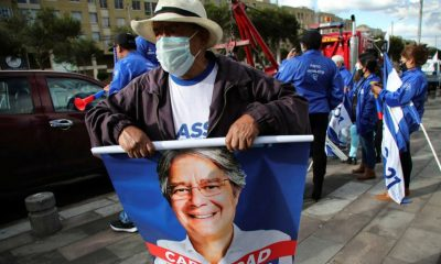 Wealthy ex-banker campaigns as Ecuador's 'change candidate'