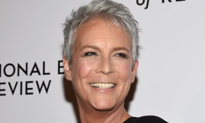 Jamie Lee Curtis Confuses Popcorn For Earbud And Is So Done With The Pandemic