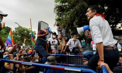 Tensions rise in Ecuador as election results roll in