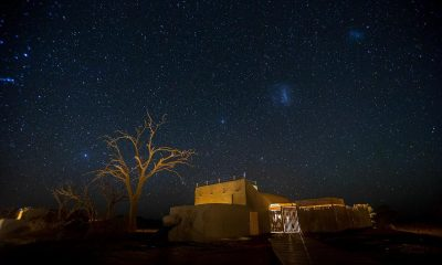 Wouldn't you rather be sleeping under the stars in Namibia?